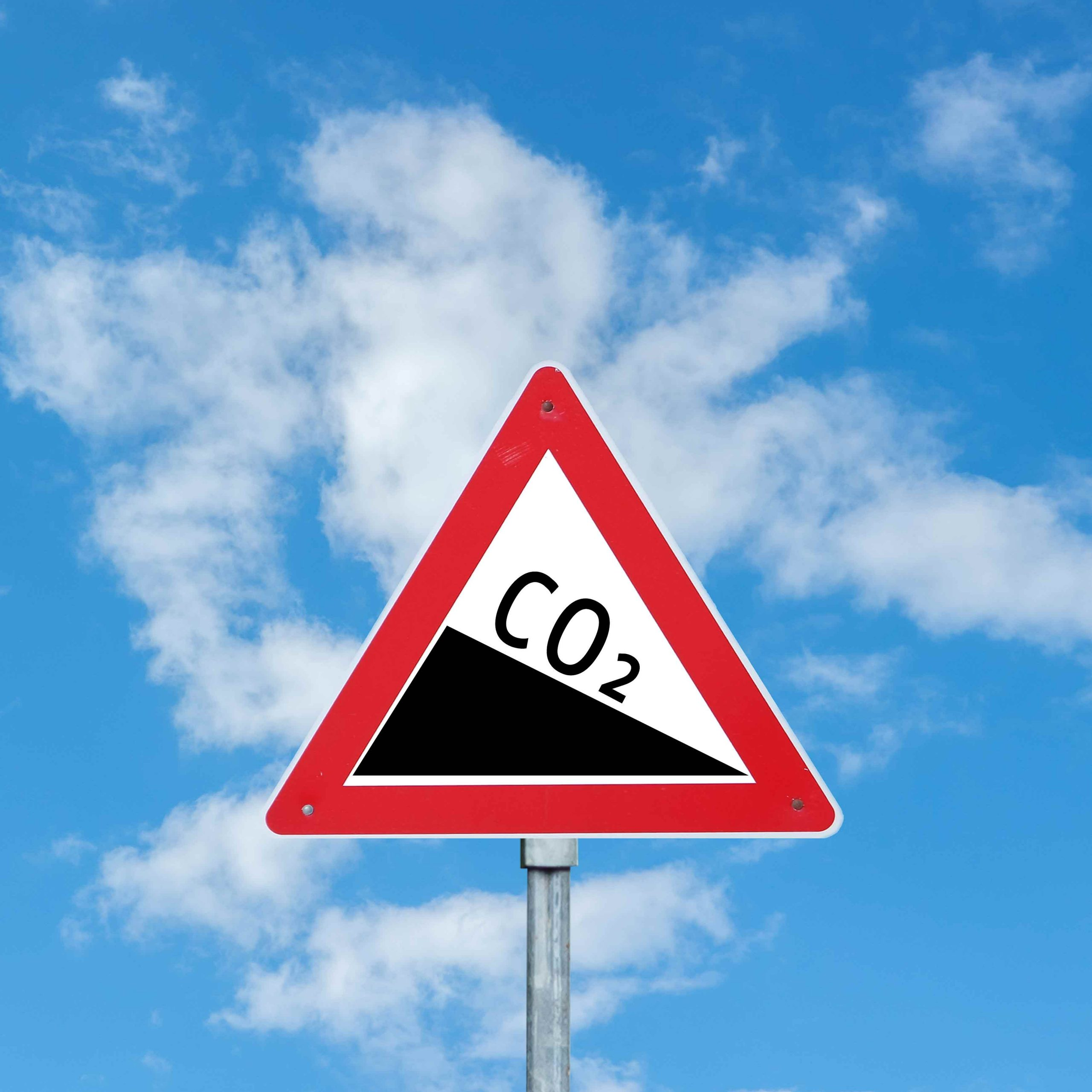 CO2 reducing from cycling in lockdown